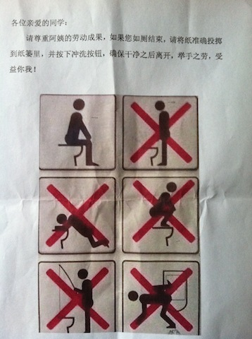 Western Toilets Do and Don'ts
