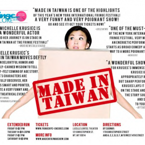 Made In Taiwan Fringe Encore Series
