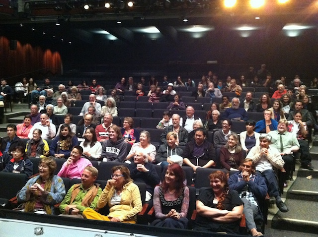The Audience. For supporting the Arts.