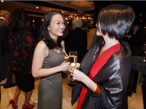 Vivian Chiu and Ardith Ibanez Nishi