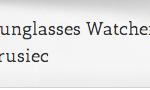 Celebrity Sunglasses Watcher
