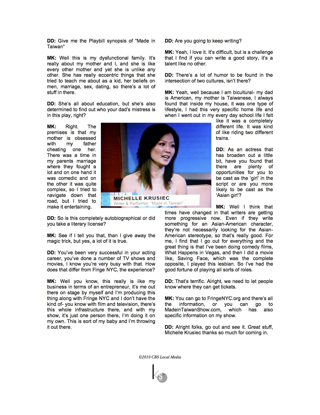 CBS2 NEWS transcript 8-1-10-page2