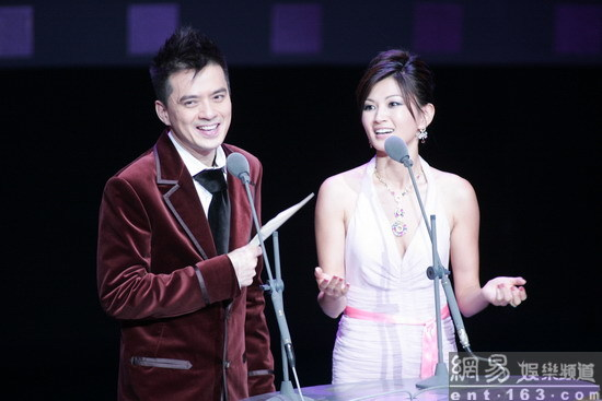 Golden Horse On Stage with Anthony Wong