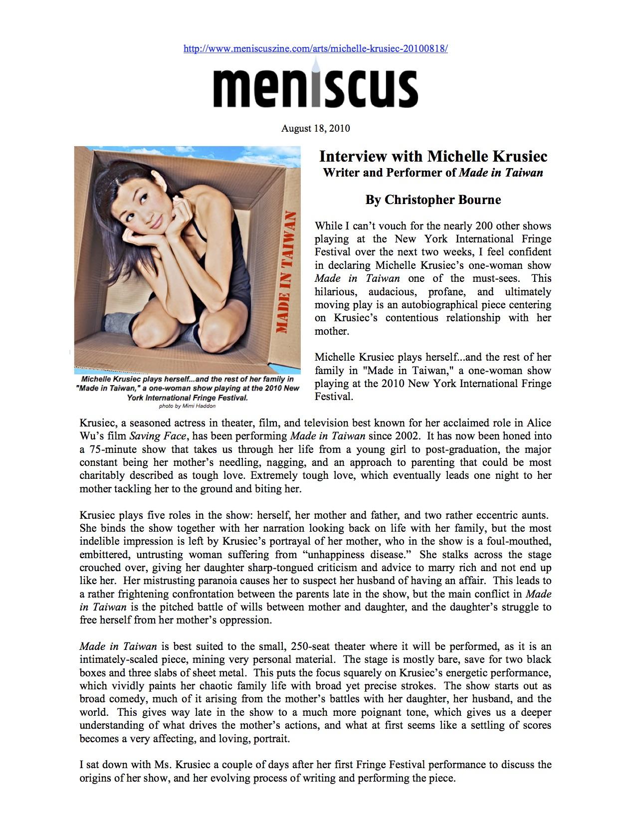 MENISCUS MAGAZINE 8-18-10-page01