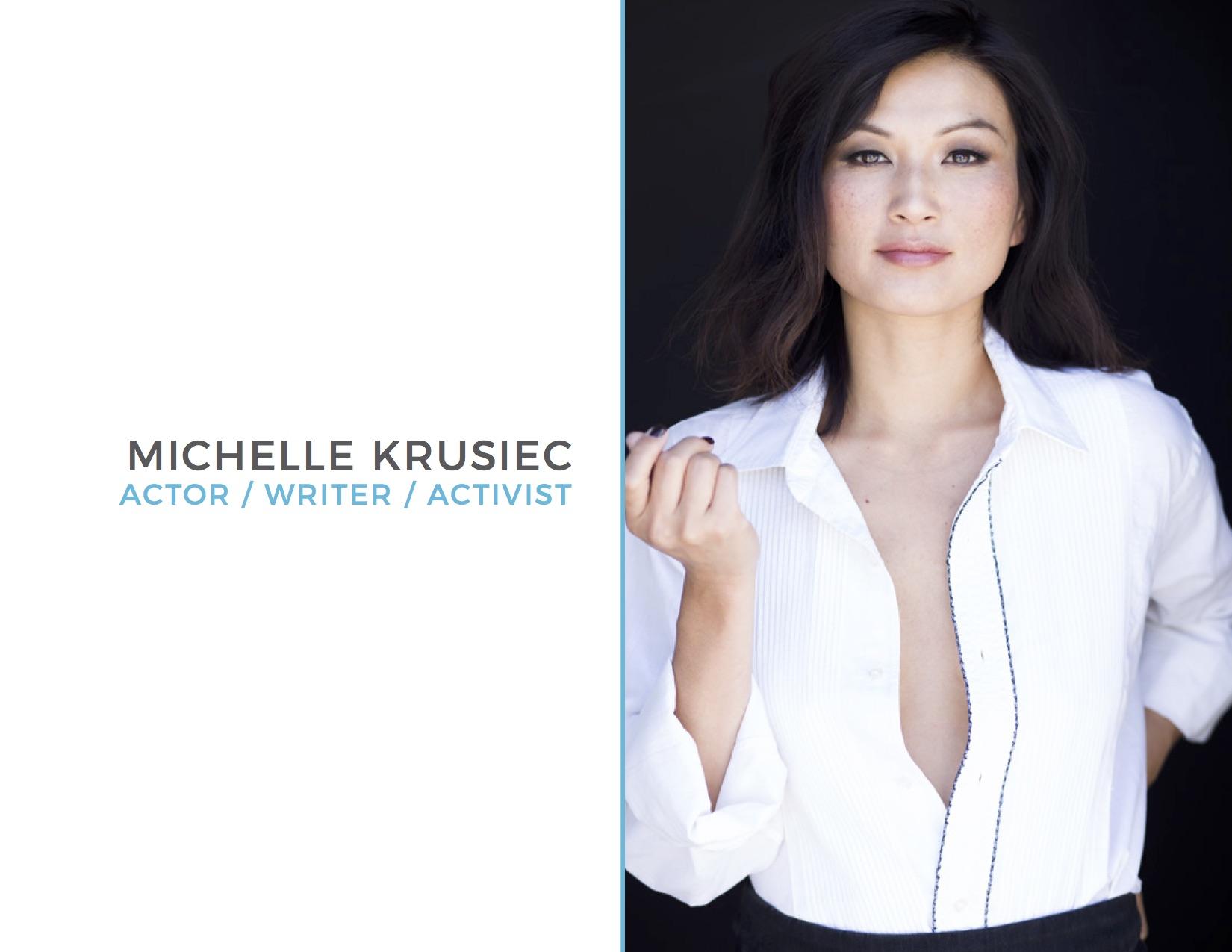 Michelle Krusiec Press Kit